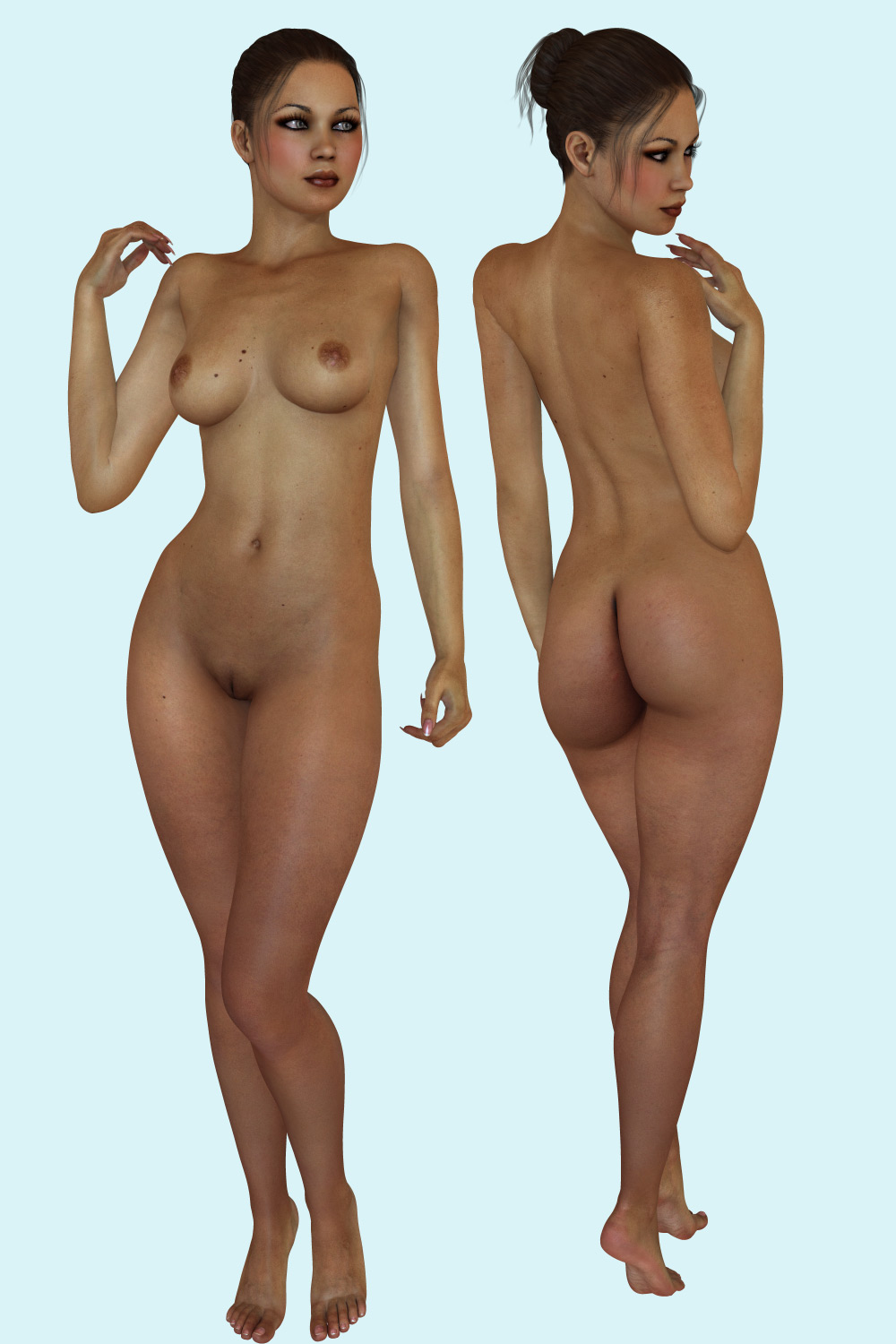 Daz 3d female models nude nackt pictures